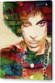 Prince Acrylic Print by Mihaela Pater