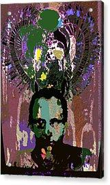 Prince Of The Nile 2 Acrylic Print by Noredin Morgan