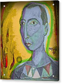 Prince Of The Nile Acrylic Print by Noredin Morgan