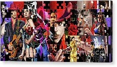 Prince Puzzle Of Missing Pieces 1 Acrylic Print