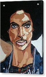 Prince Rogers Nelson Acrylic Print