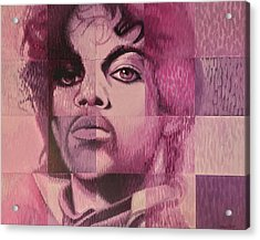 Prince Acrylic Print by Steve Hunter