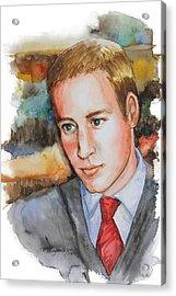 Prince William Acrylic Print by Patricia Allingham Carlson