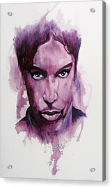 Prince Acrylic Print by William Walts