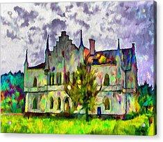 Princely Palace Acrylic Print by Jeff Kolker