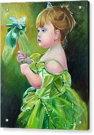 Princess Addie Acrylic Print