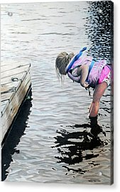 Princess And The Frog Acrylic Print by Duncan  Way