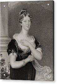 Princess Charlotte Caroline Acrylic Print
