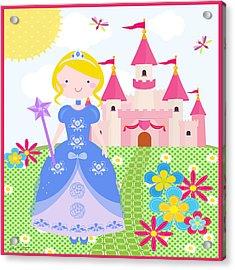 Princess-jp3211 Acrylic Print by Jean Plout