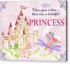 Princess-jp3584-b Acrylic Print by Jean Plout
