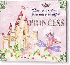 Princess-jp3584 Acrylic Print by Jean Plout