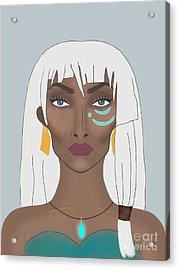 Princess Kidagakash  Acrylic Print