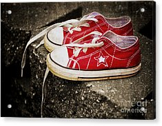 Princess Shoes Acrylic Print by Scott Pellegrin