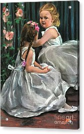 Princesses Acrylic Print