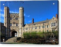 Princeton University Buyers Hall  Acrylic Print by Olivier Le Queinec