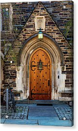 Acrylic Print featuring the photograph Princeton University Henry Hall by Susan Candelario
