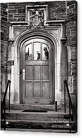 Princeton University Little Hall Entry Door Acrylic Print by Olivier Le Queinec