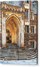 Acrylic Print featuring the photograph Princeton University Lockhart Hall Dorms by Susan Candelario