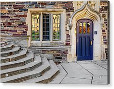 Acrylic Print featuring the photograph Princeton University Lockhart Hall by Susan Candelario