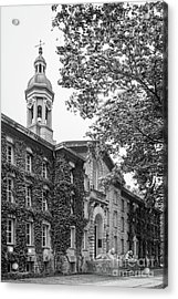 Princeton University Nassau Hall Acrylic Print by University Icons
