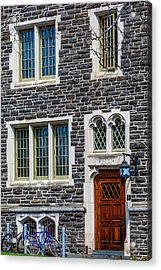 Acrylic Print featuring the photograph Princeton University Patton Hall No 9 by Susan Candelario