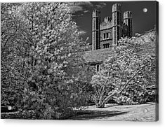 Acrylic Print featuring the photograph Princeton University Buyers Hall by Susan Candelario