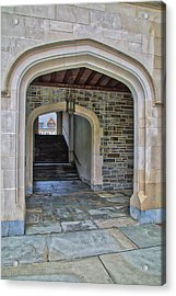 Acrylic Print featuring the photograph Princeton University Whitman College Arches by Susan Candelario