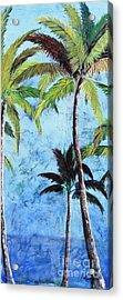 Princeville Palms  Acrylic Print