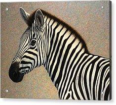 Principled Acrylic Print by James W Johnson