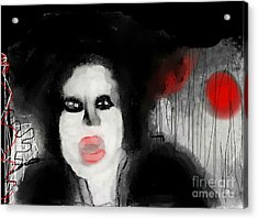 Priscilla  Queen Of The Night Acrylic Print by Rc Rcd