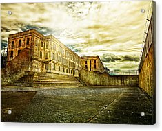 Prision Break Acrylic Print by Camille Lopez