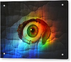 Acrylic Print featuring the photograph Prismaeye by Douglas Fromm