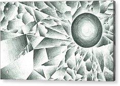 Prismatic Eclipse Acrylic Print by Ty DAvila
