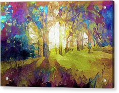 Prismatic Forest Acrylic Print