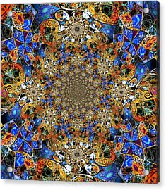 Prismatic Glasswork Acrylic Print
