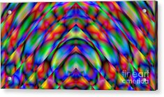 Prisms 339 Abstract Acrylic Print by Rolf Bertram