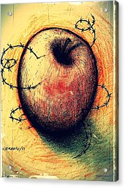 Prison Of Human Desire Acrylic Print by Paulo Zerbato