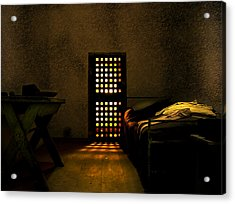 Prison Acrylic Print by Svetlana Sewell