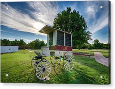 Acrylic Print featuring the photograph Prison Wagon by James Barber