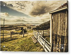 Pristine Hinterland Lookout  Acrylic Print