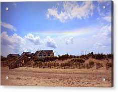 Private Beach Acrylic Print by JAMART Photography