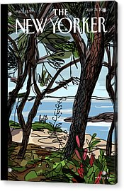 Private Beach Acrylic Print