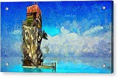 Private Island - Da Acrylic Print