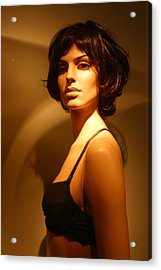 Private Number Acrylic Print by Jez C Self