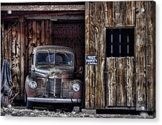 Private Parking Acrylic Print