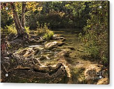 Private Retreat Acrylic Print by Tamyra Ayles