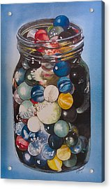 Prized Collection Acrylic Print by Victoria Heryet