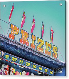 Acrylic Print featuring the photograph Prizes by Cindy Garber Iverson