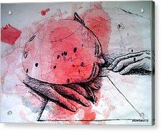 Process Of Inspiration Acrylic Print by Paulo Zerbato