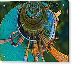 Processing Point 2 Acrylic Print by Wendy J St Christopher